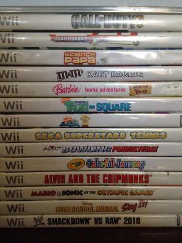 Lote De Juegos Wii