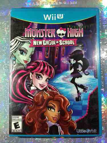 Lote Monster High Juego Wii U New Ghoul School Barato
