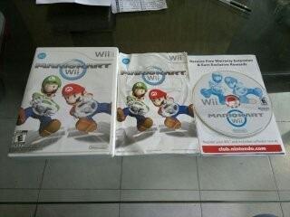 Mario Kart Sin Instructi Para Nintendo Wii,excelente Titulo.