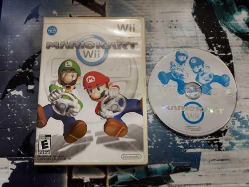 Mario Kart Sin Instructivo Para Nintendo Wii,excelente Titul