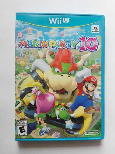 Mario Party 10 Para Wii U Seminuevo