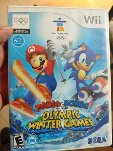 Mario Y Sonic En Los Juegos Olimpicos De Invierno