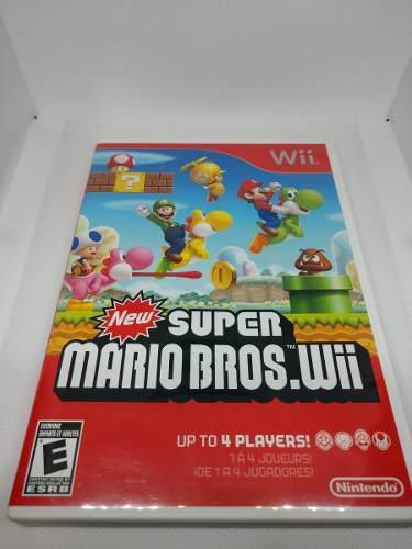 New Super Mario Bros Wii Y Wii U Pack (usado 2 Juegos)