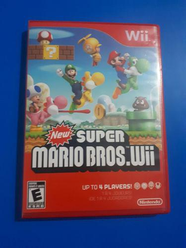 New Super Mario Bross Wii (en Buen Estado)