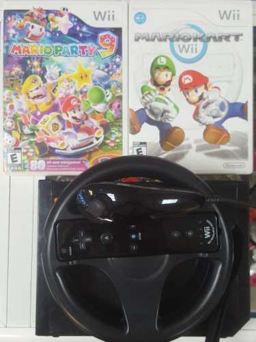 Nintendo Wii Con Juegos En La Memoria.
