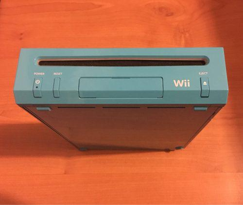 Nintendo Wii Edición Azul Con 7 Juegos, Wii Remote Y