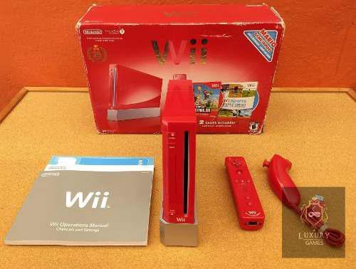 Nintendo Wii Edicion 25 Aniversario