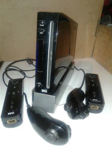 Nintendo Wii Hackeado 2 Controles.