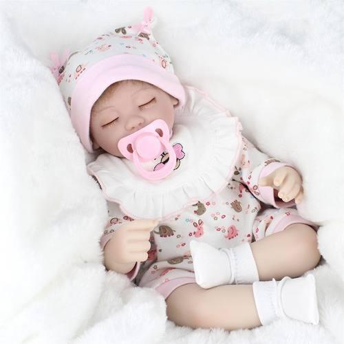 Original Bebe Reborn Muñeca Realista Silicona Tela Juguet