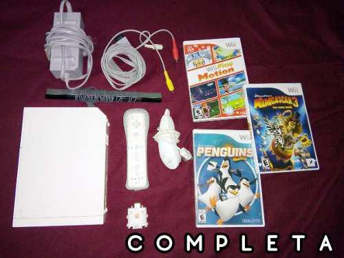 Paquetazo Consola Wii Remate Control 6 En 1 Juegos Wii