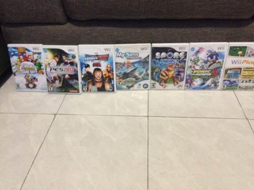 Paquete De Juegos Para Wii