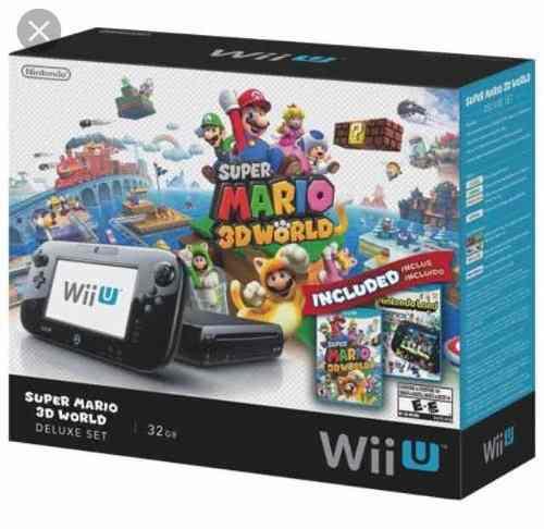 Paquete Wii U Con Juegos Y Accesorios De Wii!!
