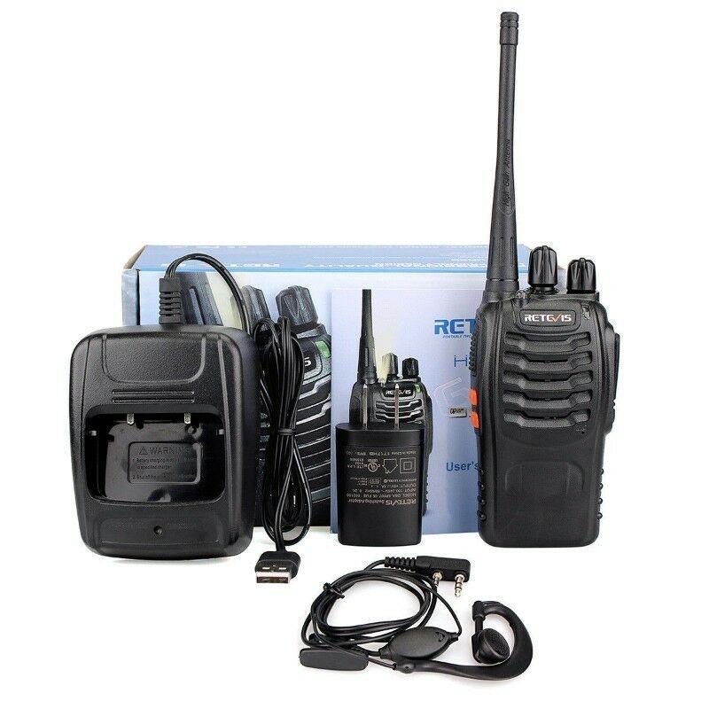 Par de Radios para comunicacion 16 canales 5 watts Nuevos