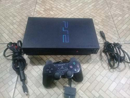 Play Station 2 Fat Sin Chip Cn Detalle En La Charola