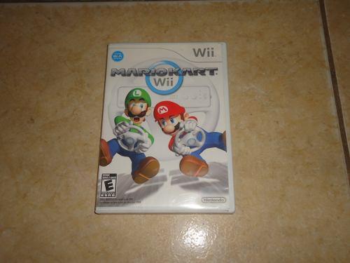 Solo Caja E Instructivo Mario Kart Wii Nintendo Wii +++