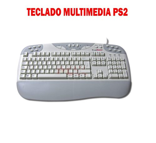 Teclado Multimedia Ps2 Marca True Basix Txt-