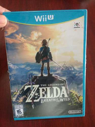 The Legend Of Zelda Breath Of The Wild Para Wii U Nuevo