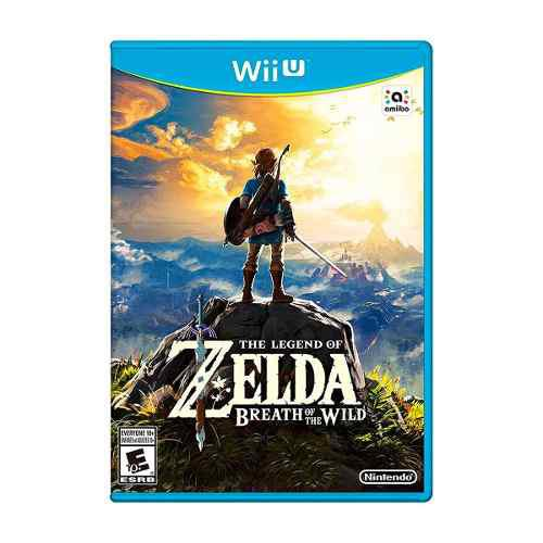 The Legend Of Zelda: Breath Of The Wild Wii U Nuevo Sellado