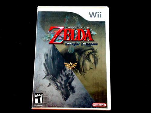 The Legend Of Zelda Twilight Princess Para Wii !!!