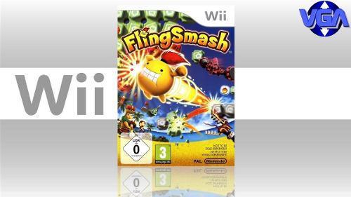 Video Juego Flingsmash Wii Nuevo Cerrado