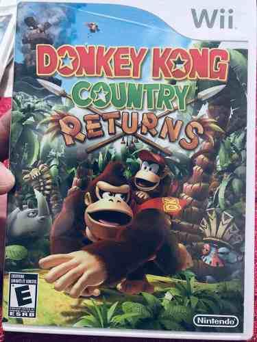 Video Juego Para Wii Donkey Kong Country Usado