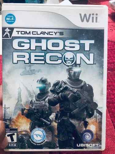Video Juego Para Wii Toms Clancys Ghost Recon Usado