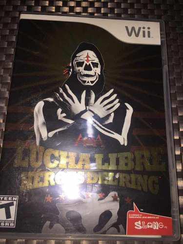 Videojuego Lucha Libre Héroes Del Ring Para Nintendo Wii
