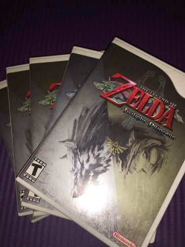 Videojuego The Legend Of Zelda Twilight Princess Para Wii