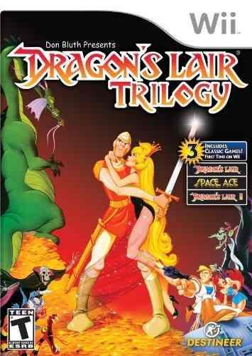 Videojuego Trilogía De La Guarida Del Dragón - Wii