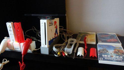Wii Nintendo (con Estacion De Carga)
