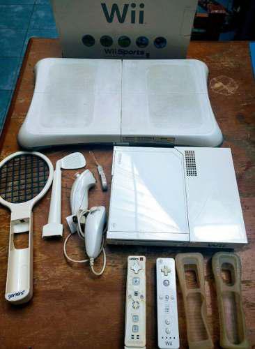 Wii Sports Con Controles Y Accesorios