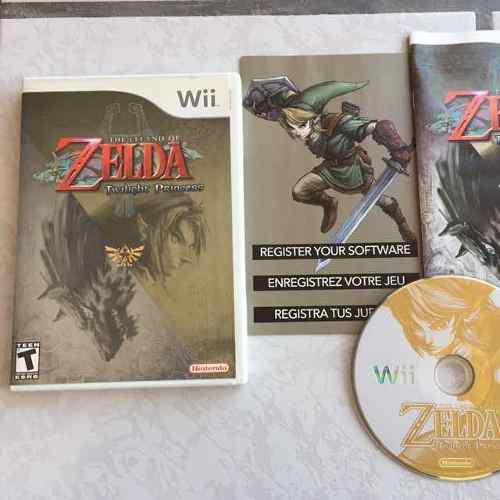 Zelda Twilight Princess Juegazo Completo Para Tu Wii