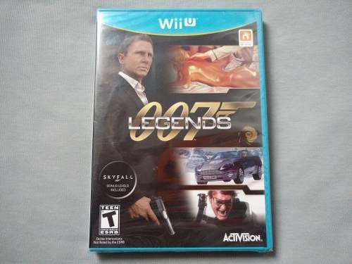 007 Legends Nuevo Y Sellado Original Para Nintendo Wii U