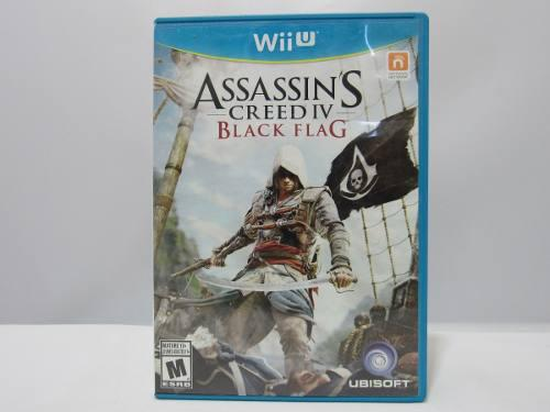 Assassin's Creed 4: Black Flag - Wii U ¡fisico-usado!