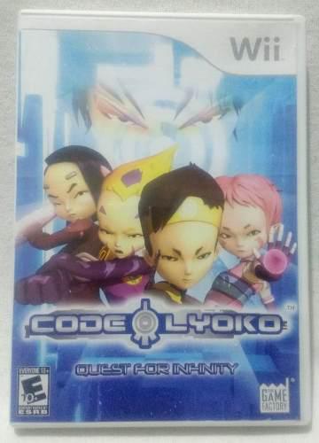 Code Lyoko Quest For Infinity Para Wii Usado