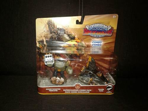 Combo Earth Superchargers El Original #1 De Los Skylanders