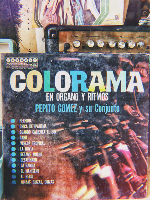 Disco LP 33 rpm vinil acetato Tito Gómez y su conjunto -