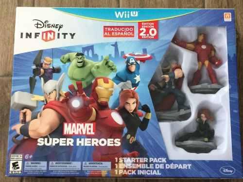 Disney Infinity 2.0 Marvel Super Heroes Para Wii U