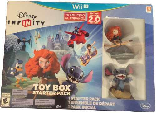 Disney Infinity 2.0 Wii U Toy Box Starter Pack Traducido