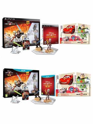 Disney Infinity 3 P/ Wii U +set Cars O P/ Ps3 +set Cars 1por