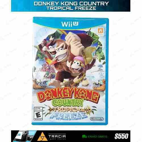 Donkey Kong Country Tropical Freeze] Dk Wii U   Tracia