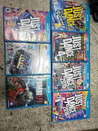 Juegos Para Wii U 330 Cada Uno Envio Gratis