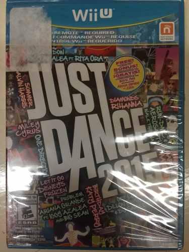 Just Dance 2015 Nintendo Wii U Nuevo Sellado Envio Gratis