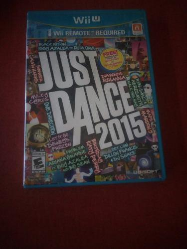 Just Dance 2015 Seminuevo Wii U:.. Bsg