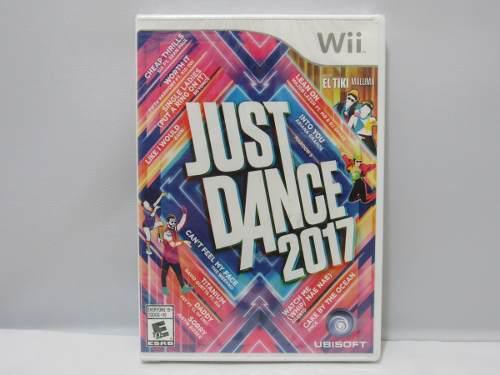 Just Dance 2017 Para Wii ¡nuevo Sellado!
