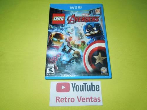 Lego Marvel Avengers Nintendo Wii U