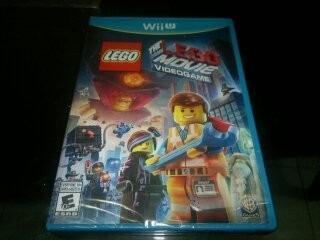 Lego Movie Videogame Nuevo Y Sellado Para Nintendo Wii U