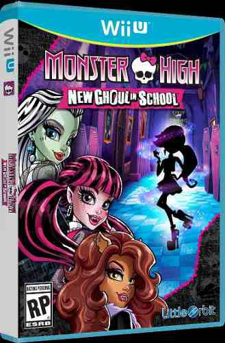 Monster High New Ghoul In School Wii U Nuevo Fisico Od.st