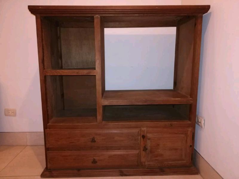 Mueble Estante de madera para TV