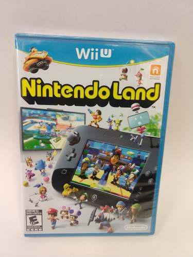 Nintendoland Wiiu Nuevo Sellado De Fabrica En The Next Level